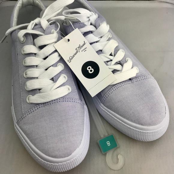 56d901150267 Women's Purple Celeste Canvas Lace Up Sneakers. NWT. Universal Thread. $13  $20. Size. 8